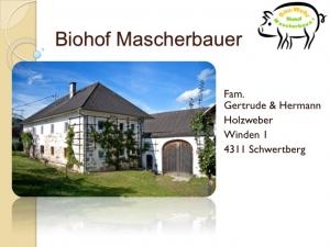 Biohof Mascherbauer
